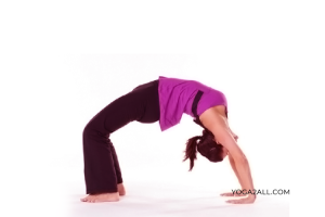 Wheel Pose Yoga