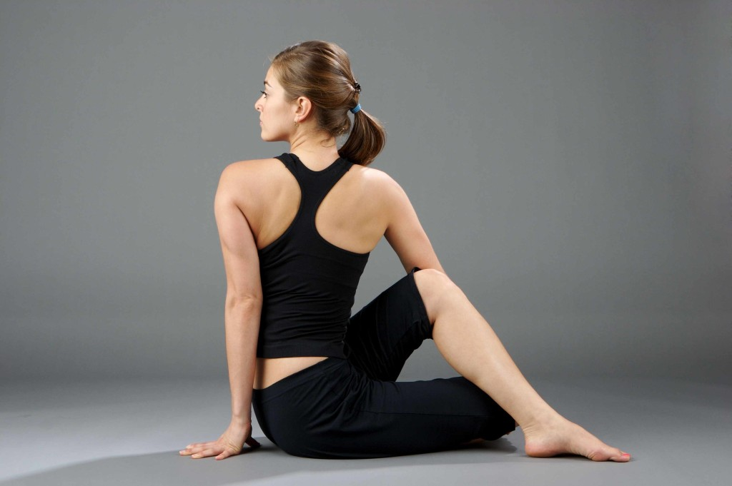 Yoga, Yoga pose, Half Lord of the fishes pose benefits and advantages