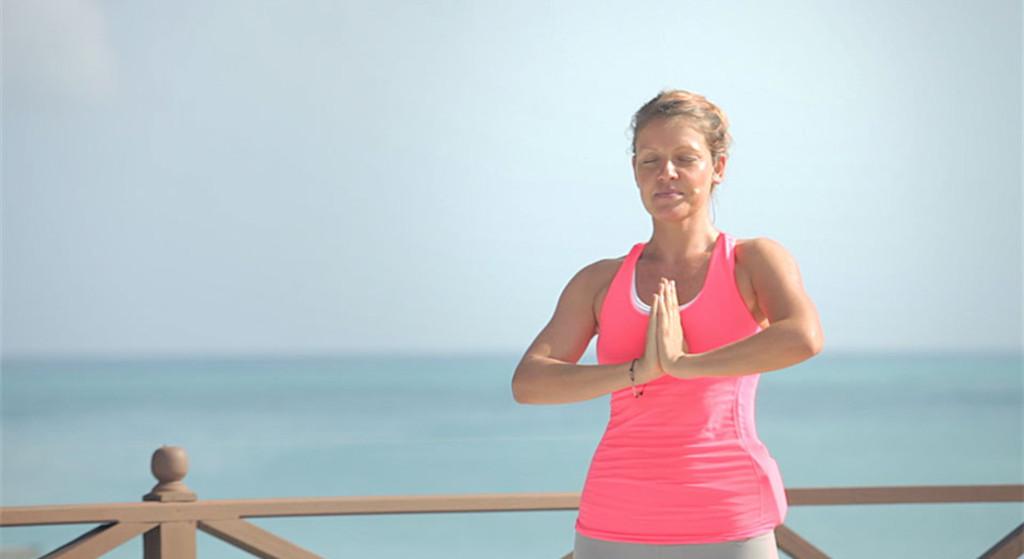 Mountain Pose. Yoga Pose, Asana, Yoga and Health