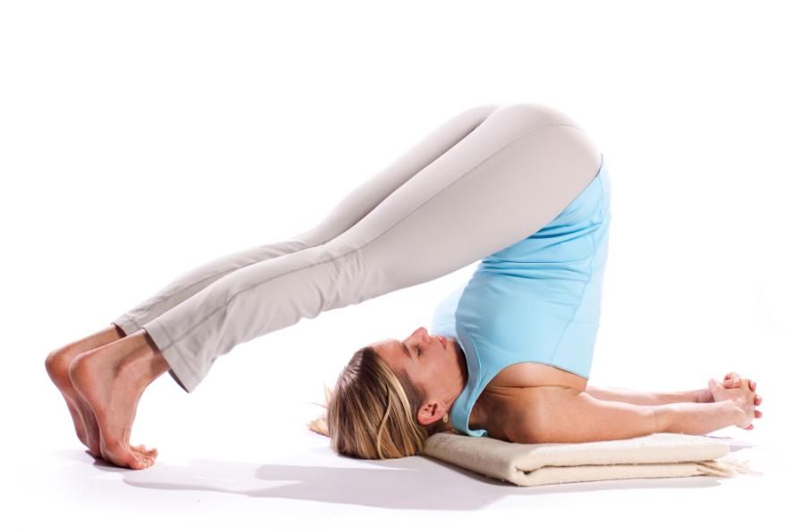 Plow Yoga Asana