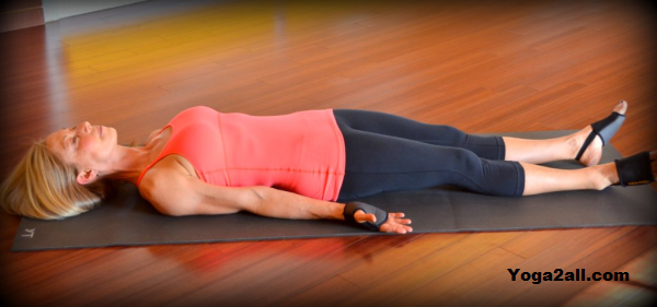 Corpse Pose for Peace of Mind