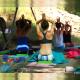 Yoga during holidays