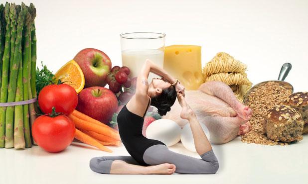 yoga and food