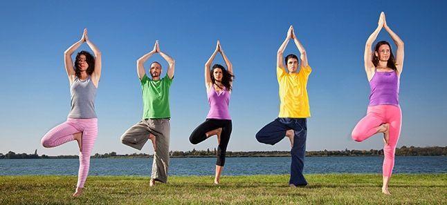 Tree Yoga pose