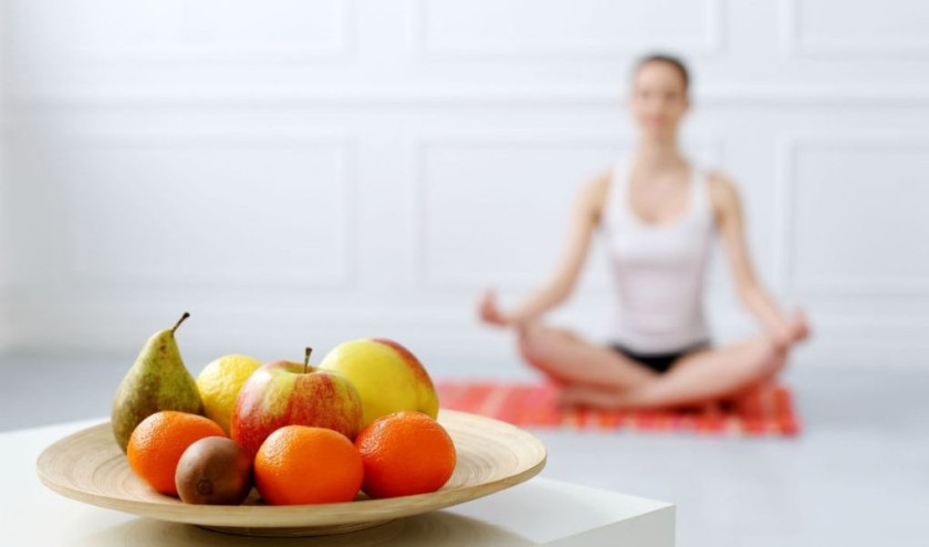 Meditation and healthy diet