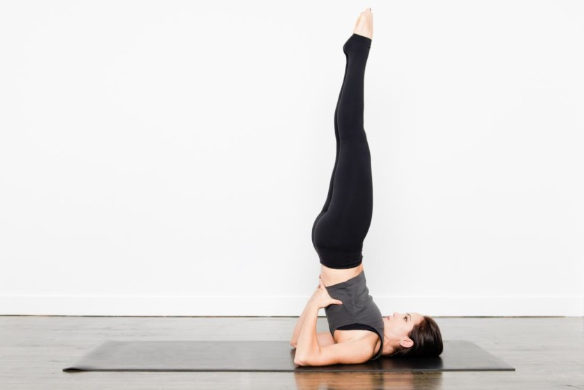 Shoulders Stand Yoga