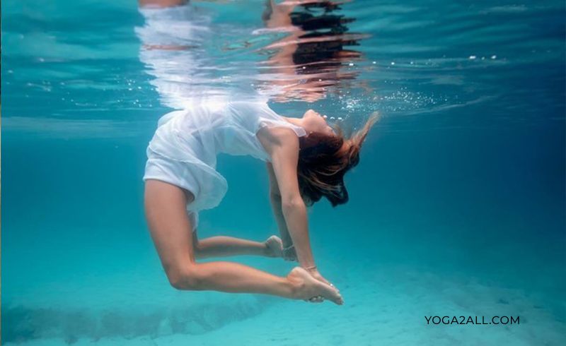 Yoga Under Water Benefits