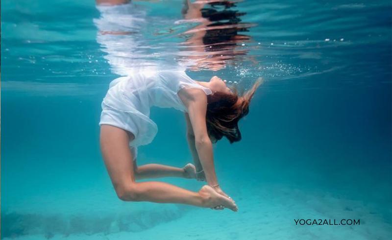 Yoga Under Water Benefits