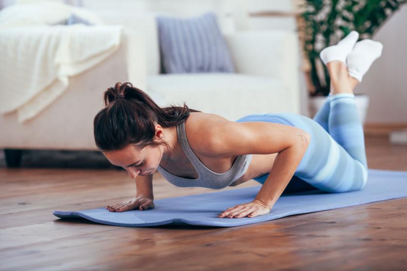 Yoga And Workout