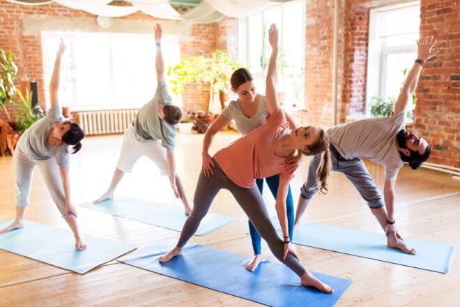 Yoga teacher training program course