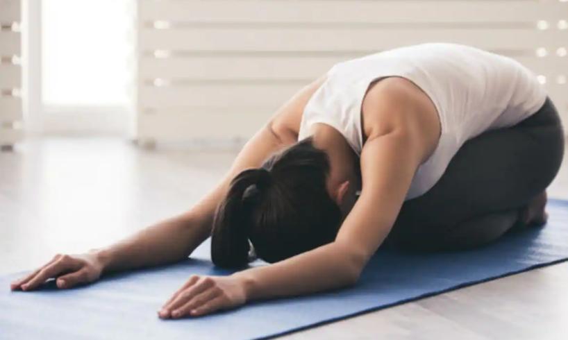 Yoga to reduce moving stress